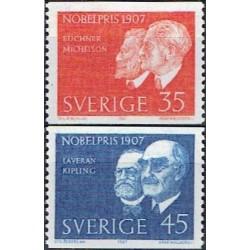 Švedija 1967. Nobel...
