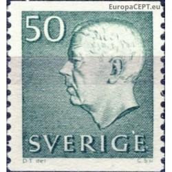 Sweden 1968. King Gustaf VI