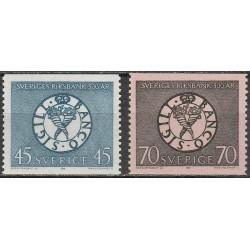 Švedija 1968. Banko jubiliejus