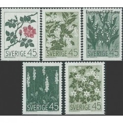 Sweden 1968. Flowers