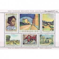 Sweden 1969. Paintings
