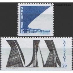 Sweden 1969. Tjorn Bridge