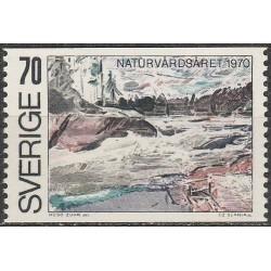Švedija 1970. Kraštovaizdžiai