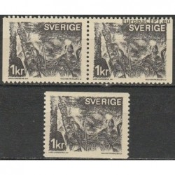 Sweden 1970. People at work