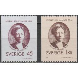 Švedija 1971. Moterų...
