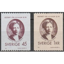 Sweden 1971. Women rights