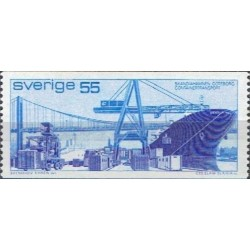 Sweden 1971. Container...