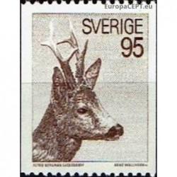Sweden 1972. Roe deer