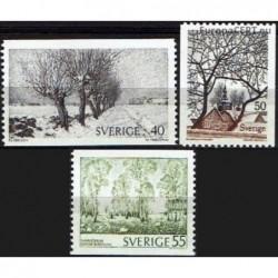 Švedija 1973. Kraštovaizdžiai
