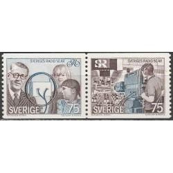 Švedija 1974. Radijas
