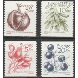 Švedija 1983. Vaisiai ir uogos