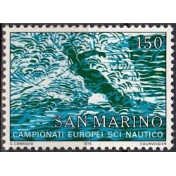San Marinas 1979. Vandens...