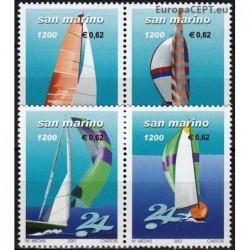 San Marinas 2001. Buriavimas