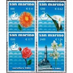 San Marino 2001. Flowers