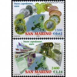San Marinas 2001. Euras