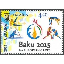 Ukraina 2015. Baku žaidynės