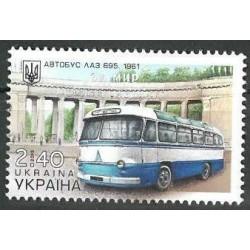 Ukraina 2015. Autobusas LAZ...