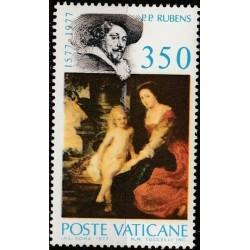 Vatican 1977. Rubens paintings
