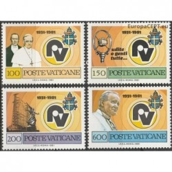 Vatican 1981. Vatican Radio