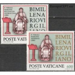 Vatican 1981. Vergilius...