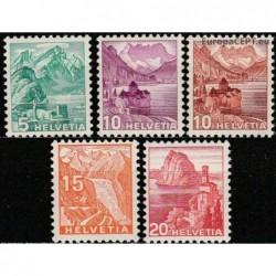 Switzerland 1934-1939....