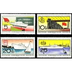 East Germany 1960. Ships