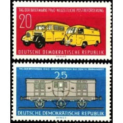 Rytų Vokietija 1960. Pašto...