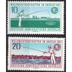 East Germany 1961. Fishing