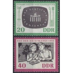 East Germany 1962. Television