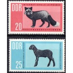 East Germany 1963. Fur trade