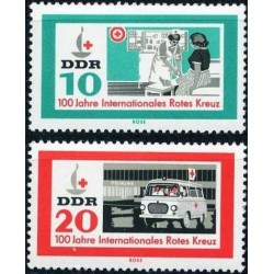 East Germany 1963. Red Cross