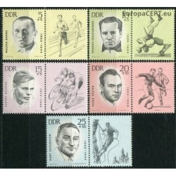 East Germany 1963. Sportsmen