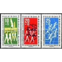 East Germany 1963. Sport Games