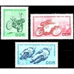 East Germany 1963. Motorsports