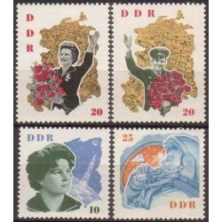 East Germany 1963. Cosmonauts