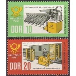 Rytų Vokietija 1963. Pašto...