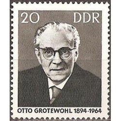 East Germany 1965. Politician