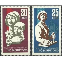 Rytų Vokietija 1967. Moterys