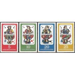 Rytų Vokietija 1967. Kortų...