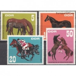 East Germany 1967. Horses