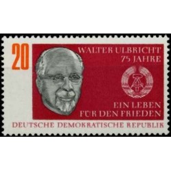 East Germany 1968. Walter...