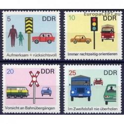 East Germany 1969. Road...