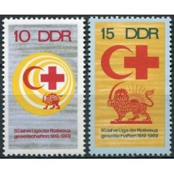 East Germany 1969. Red Cross