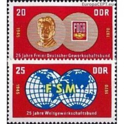 East Germany 1970. Labour...