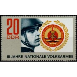East Germany 1971. Military