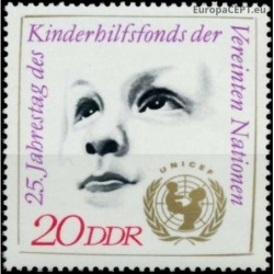 East Germany 1971. UN...