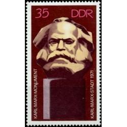 East Germany 1971. Karl Marx