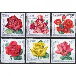 East Germany 1972. Roses