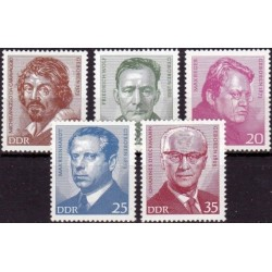 East Germany 1973. Famous...