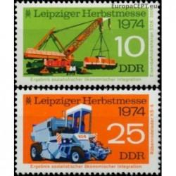 East Germany 1974. Leipzig...